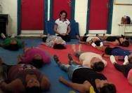 Palestra e aula de yoga de 23.03.2019