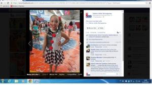 Maria Clara Amario, de 9 anos