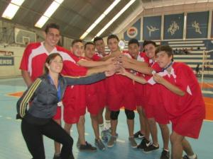Campeã no Masculino Escola Estadual Prof. Epaminondas de Oliveira