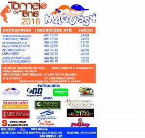 CARTAZ torneio magussy 2016. novo
